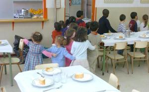 Ciudadanos insta al Gobierno a licitar de nuevo los comedores escolares