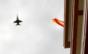 Ni uno, ni dos: ensayo aéreo con 20 aparatos, en Logroño