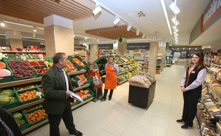 Inauguración del supermercado Lupa en Logroño