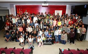Más de 70 alumnos han participado en la VI Conferencia Ambiental Escolar Confint Rioja