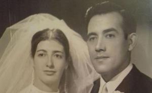 Retrato de boda de una vecina de Navajún