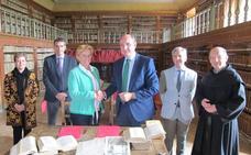 Iberdrola colabora en la restauración de siete códices de San Millán