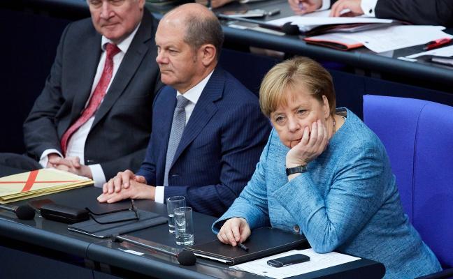 Merkel 'cierra' las fronteras alemanas