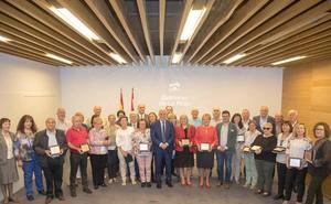Homenaje a 48 funcionarios de La Rioja jubilados en los últimos seis meses