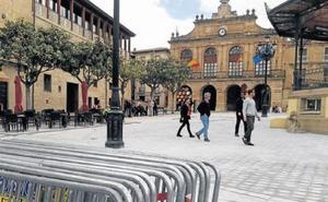 Haro recupera el espacio de la plaza de la Paz tras seis meses de obras