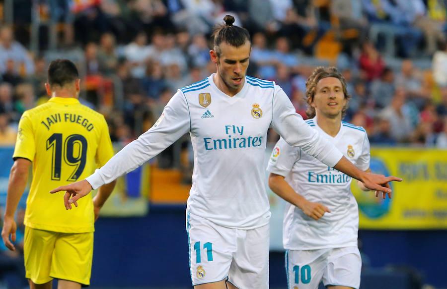 Las mejores imágenes del Villarreal-Real Madrid