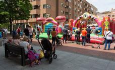 Fiestas en el centro de Logroño