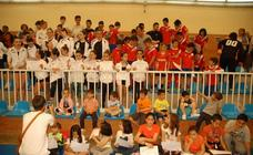 FInal de curso en las escuelas deportivas de Cervera