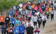 Marcha solidaria en Alfaro