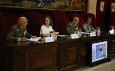 2.678 participantes, 157 vehículos y 27 minutos, los datos del Desfile de las Fuerzas Armadas en Logroño