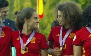 La Sub'17 de la riojana Ana Tejada, la mejor de Europa
