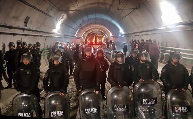 Las huelgas paralizan Buenos Aires