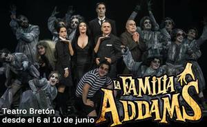 El Bretón acoge La Familia Addams, una comedia musical con una veintena de actores