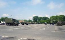 Logroño, casi a punto para el desfile