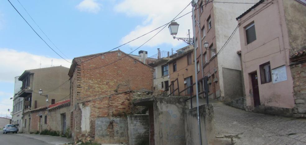 Villamediana de Iregua mejora la estética y la seguridad de su barrio de las bodegas