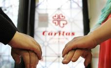 3.484 personas fueron atendidas por Cáritas en 2017