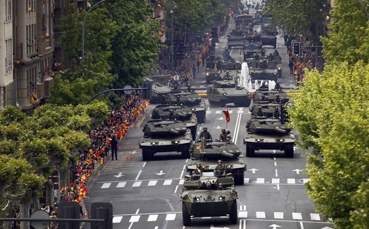 Exitoso Desfile del Día de las Fuerzas Armadas