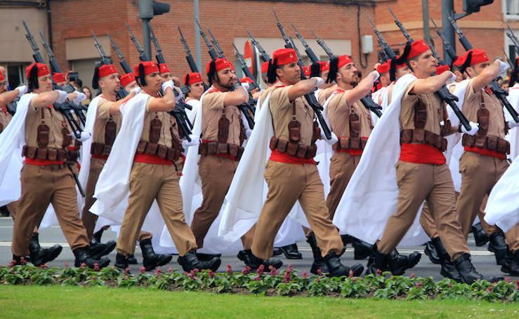 Imágenes del desfile militar de Logroño