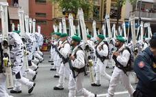 VIDEO: el desfile de Infantería