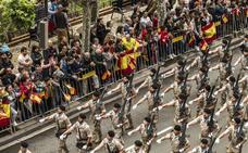 Exitoso desfile en Logroño (II)