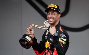 Ricciardo domina en Mónaco