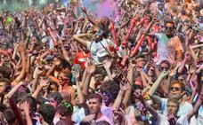 La carrera de colores Holi Life vuelve a Logroño