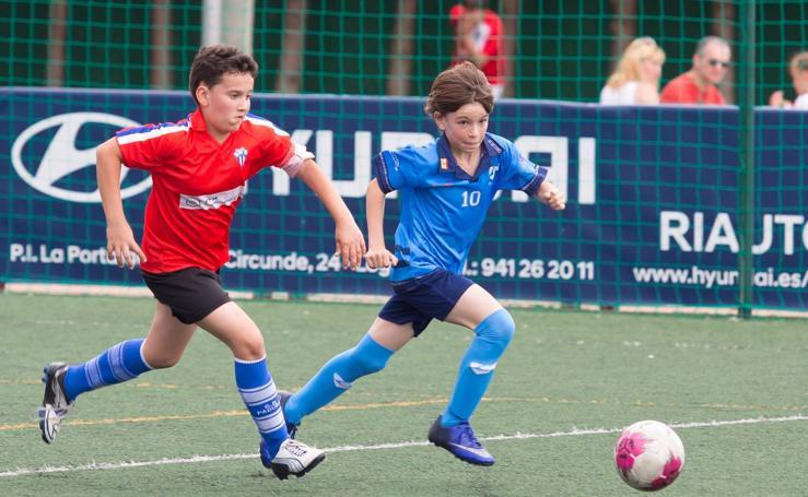El torneo del Comillas congrega a 2.800 niños y 186 equipos en Pradoviejo