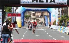 Media Maratón de Patines: La meta