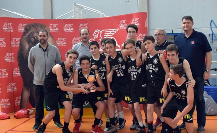 Soria Basket y Maristas ganan el torneo Sanignacio