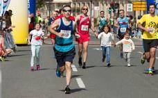 Media Maratón: la meta