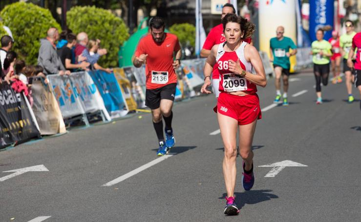 Media Maratón: llegada de los corredores de la 7K
