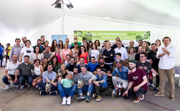 XIV Torneo Interempresas de La Rioja de pádel (III): Los favoritos no dan opciones