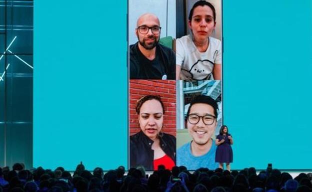 WhatsApp permite hacer videollamadas grupales