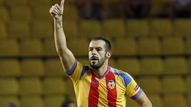 El Valencia cede a Negredo al Middlesbrough por una temporada