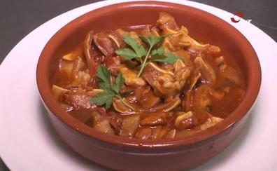 Gastronomía muy riojana en Murillo de Río Leza