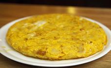 Una de las mejores tortillas de España