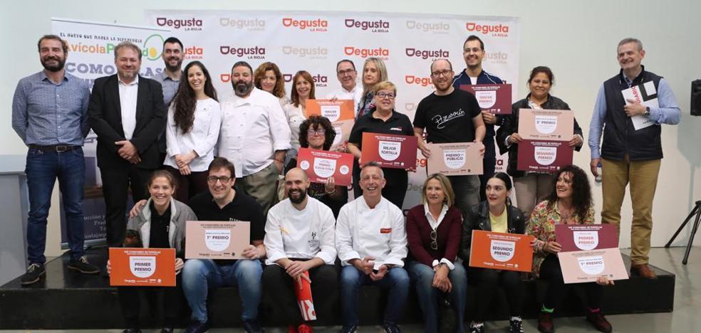 Las mejores tortillas de La Rioja son la del Tizona (Logroño) y la del Virginia (Nájera)