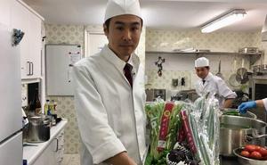 Verduras con acento nipón