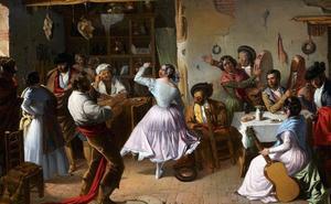 De cañas y tapas por Sevilla en 1882