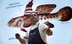 Ángel León bucea y define el nuevo paradigma de la cocina