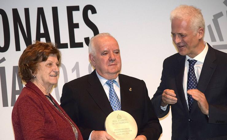 Lorenzo Cañas y José Félix Paniego, Premios Nacionales de Gastronomía