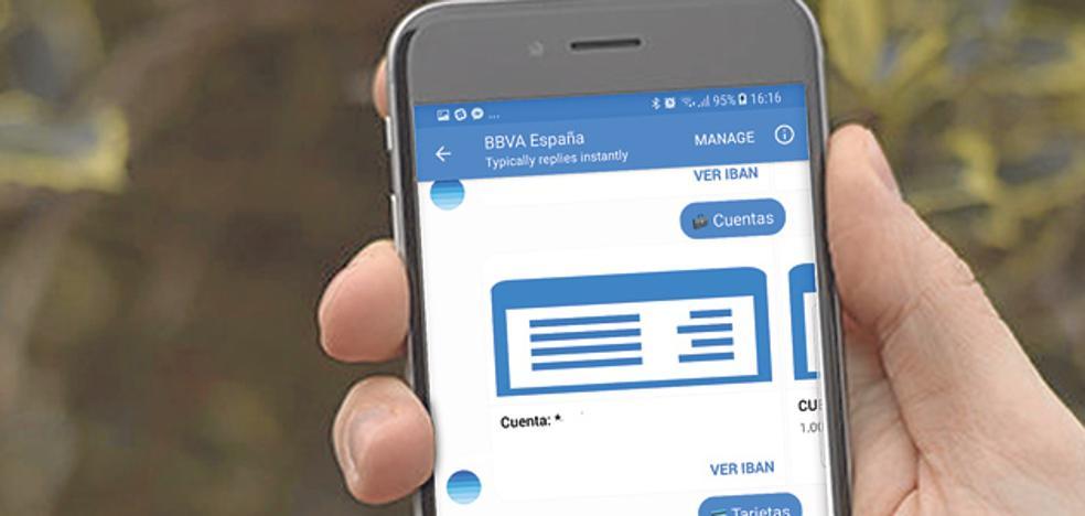 Servicios bancarios en las redes sociales