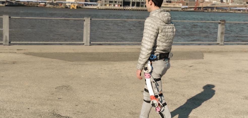 Un exoesqueleto rentable, accesible... y riojano