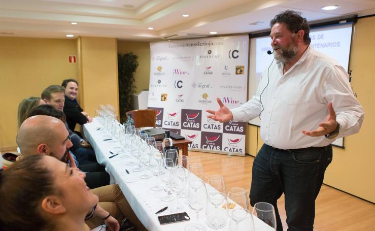 Juan Carlos Sancha cierra el Club de Catas