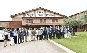 Ceniceros cifra en 6,3 millones la inversión para la promoción del vino riojano