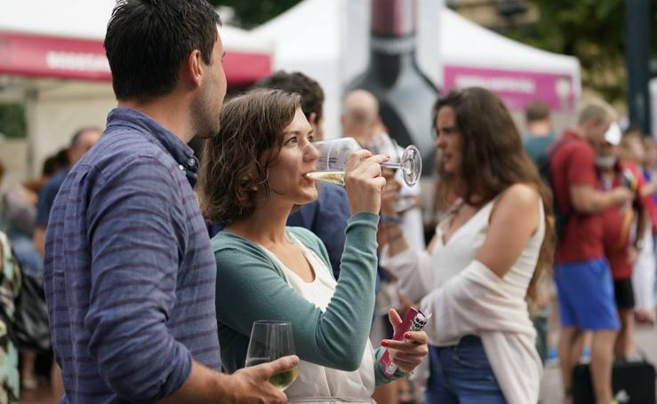 Cata de vino de Rioja en San (II) Sebastián
