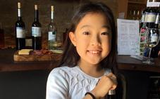 La niña con nombre de vino