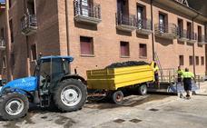 La vendimia avanza en La Rioja Baja, de momento sin incidencias