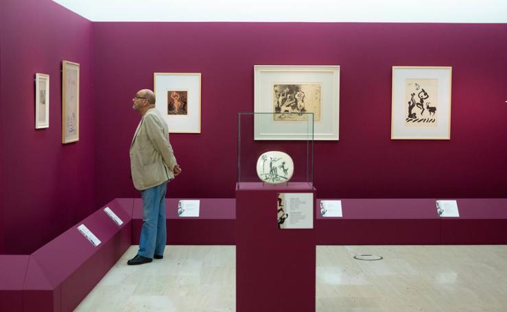 Picasso y el vino, en Vivanco