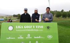 Final de la Liga de Golf (salida)